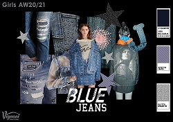1 2 BLUE JEANS Girls Trend AW20 21 SMALL