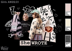 3 2 SHE WROTE Girls Trend AW20 21 SMALL