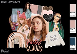 5 2 PASTEL CLOUDS Girls Trend AW20 21 SMALL