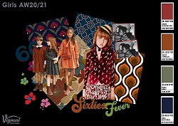 7 2 SIXTIES FEVER Girls Trend AW20 21 SMALL