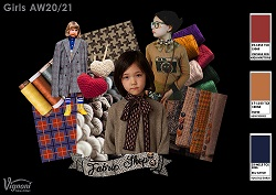 9 2 FABRIC SHOP Girls Trend AW20 21 SMALL